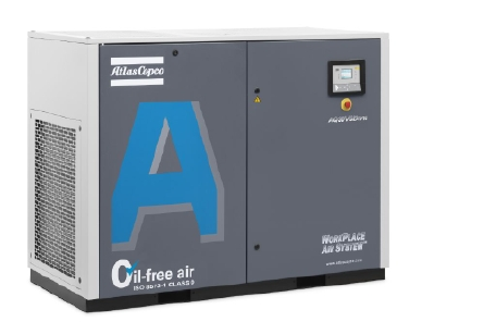 AQ30-55/15-55 VSD 喷水式无油螺杆压缩机,15-55 kW/20-75 hp