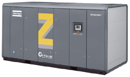 水冷式无油螺杆空气压缩机 Z 55-900 (VSD),55-935 kW / 75-1253 hp