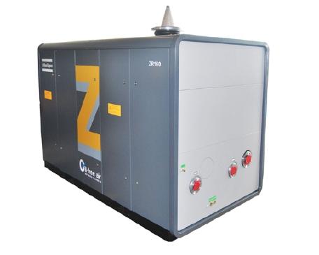 ZR 无油螺杆气体压缩机,55-750 kW,74-1005 hp