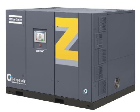 无油高速驱动离心式空压机ZH 350+,350 kW,470 hp