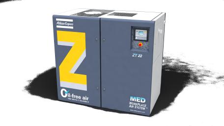 ZT-MED 医用无油旋齿式压缩机