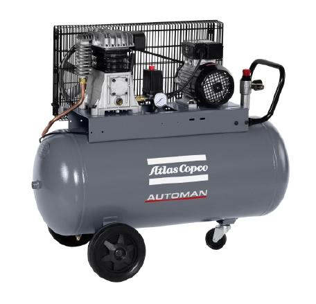 Automan 油润滑铝活塞式压缩机,1.5-7.5 kW/2-10 hp