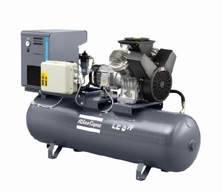 LE/LT 工业油润滑铝制活塞式压缩机,1.5-15 kW/2-20 hp