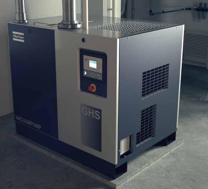 变速驱动油润滑螺杆式真空泵GHS VSD+