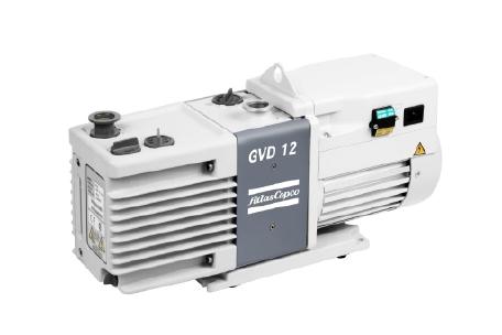 双级油润滑旋片式真空泵GVD 0.7-28,0.75-27.5 m³/hr/0.4-33 cfm