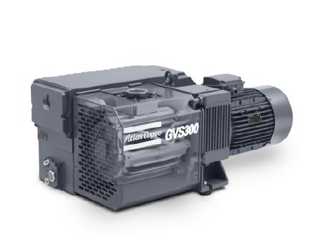 GVS 20-300: 单级油润滑旋片式真空泵,20-365 m³/h,10.5-215 cfm