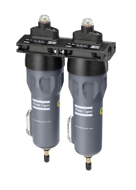 压缩空气过滤器DD+、DDp+、PD+、PDp+、QD+ (标准和高压)