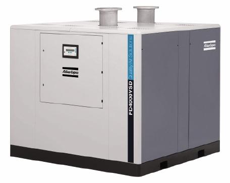 FD冷冻空气干燥机,6-4000 l/s,13-8480 cfm.